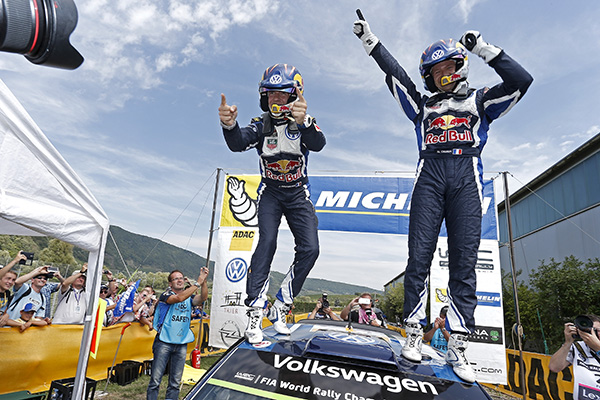 2015 Volkswagen Polo R WRC: Rally Germany: Ogier/ingrassia