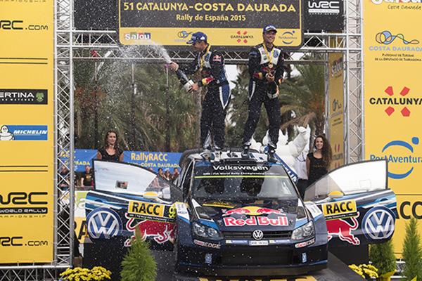 2015 Volkswagen Polo R WRC, Rally Spain: Mikkelsen/Fløene