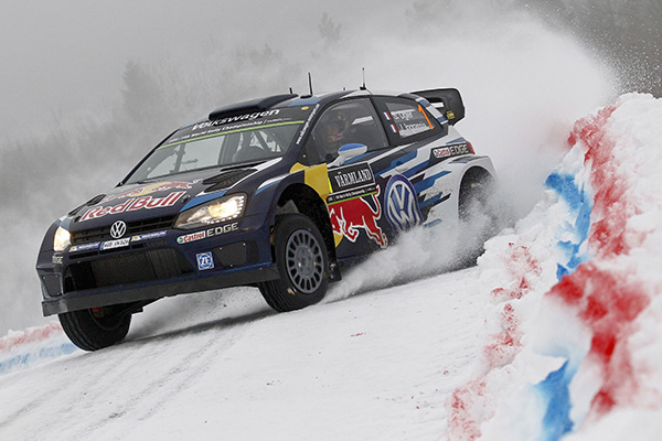 Volkswagen Polo R WRC, Rally Sweden: Ogier/Ingrassia