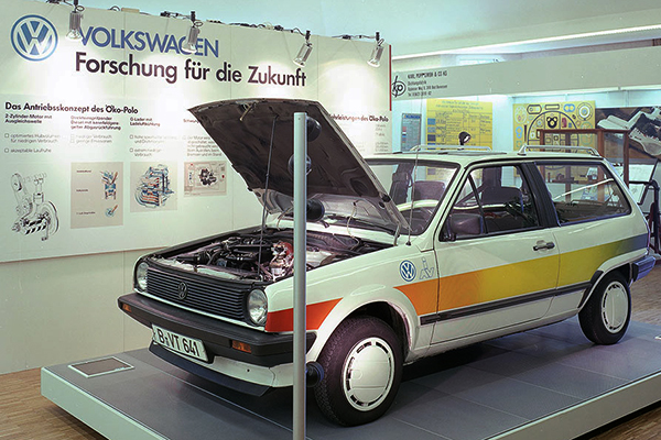 Techno Classica 2015: 1988 Volkswagen Eco-Polo