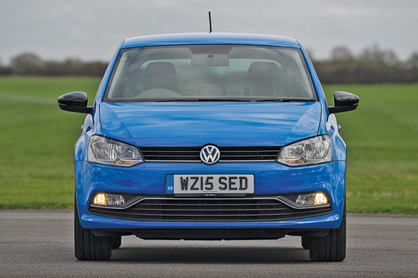 2015 Volkswagen Polo (UK)
