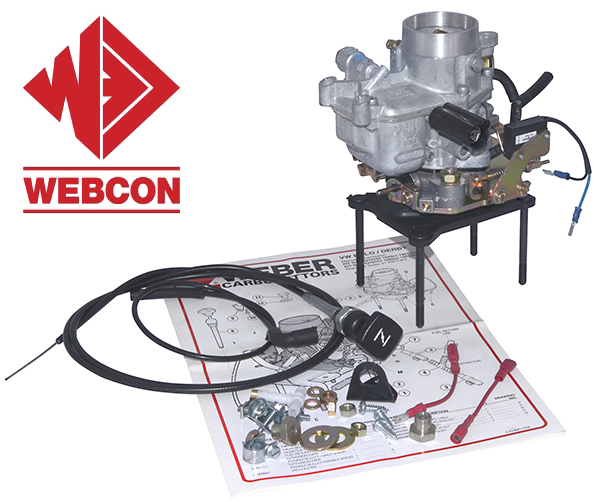 2015 Webcon carburettor kit for 1981-1985 Volkswagen Polo 1043cc
