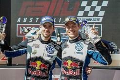 2016 Volkswagen Polo R WRC, Rally Australia: Mikkelsen/Jæger