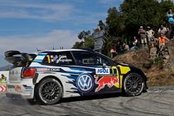 2016 Volkswagen Polo R WRC, Rally France: Ogier/Ingrassia