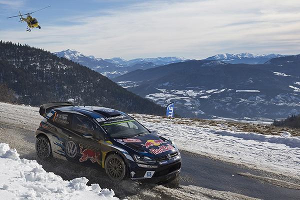 2016 Volkswagen Polo R WRC, Rally Monte-Carlo: Ogier/ingrassia