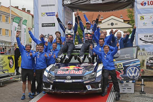 2016 Volkswagen Polo R WRC, Rally Poland: Mikkelsen/Jæger