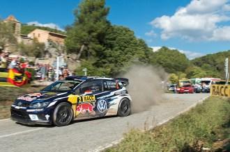 2016 Volkswagen Polo R WRC, Rally Spain: Latvala/Anttila