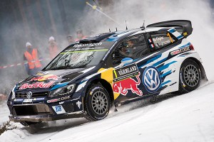 2016 Volkswagen Polo R WRC, Rally Sweden: Ogier/Ingrassia
