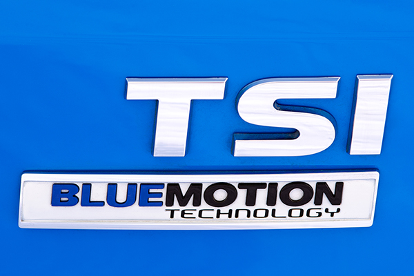 2016 Volkswagen Polo TSI BMT badge