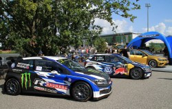 Volkswagen Polo RX and Polo R WRC at GTI Coming Home 2018 event (Image: Neil Birkitt, Volkswagen Driver magazine)