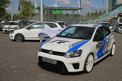 Volkswagen Polo R WRCs at GTI Coming Home 2018 event (Image: Neil Birkitt, Volkswagen Driver magazine)