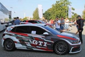 2018 Volkswagen Polo GTI R5 at GTI Coming Home 2018 event (Image: Neil Birkitt, Volkswagen Driver magazine)