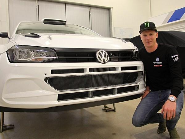 2018 Volkswagen Polo GTI R5: Johan Kristoffersson
