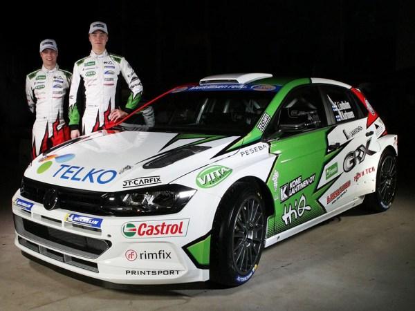 2018 Volkswagen Polo GTI R5: Emil Lindholm and Mikael Korhonen