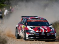 2018 Volkswagen Polo GTI R5, Rally Spain: Solberg/Engan