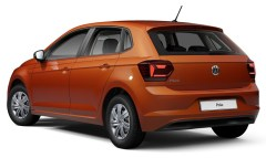 2019 Volkswagen Polo Conceptline (South Africa)