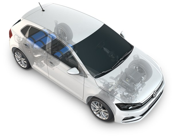 2019 Volkswagen Polo TGI cutaway