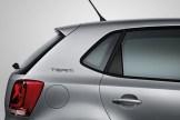 2010 Volkswagen Polo Team: rear pillar graphic