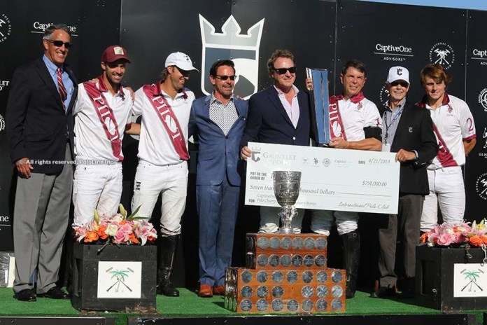 US Open Polo Championship Final: Prize Giving