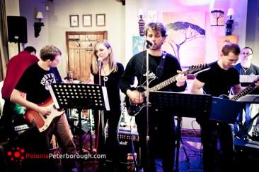 kapela rockowa w Peterborough