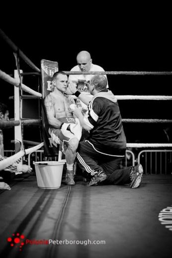 profesjonalna gala bokserska w Peterborough