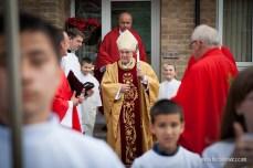 Biskup Alan Hope w Peterborough