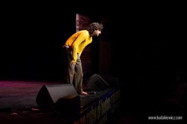 Mariusz Kałamaga na scenie