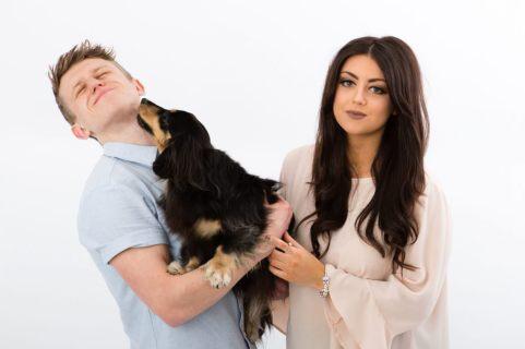 sesja rodzinna z psem