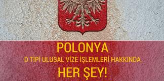 Polonya d tipi vize