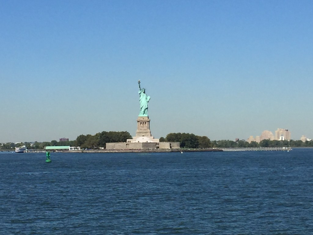 Finally made it out to sea to see Lady Liberty