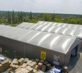 lagerhaller oppblåsbart tak