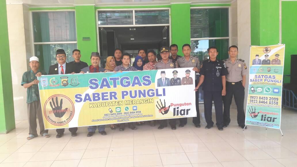 Team Saber Pungli Polres Merangin Sosialisasikan Saber Pungli Dirumah Sakit Abunjani Bangko