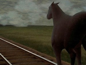 Horse and Train 1