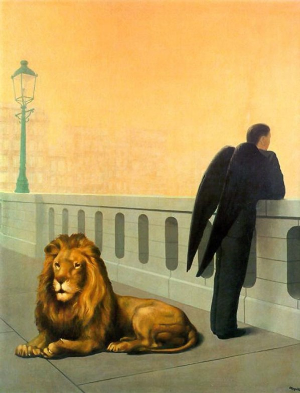 Magritte, homesickness