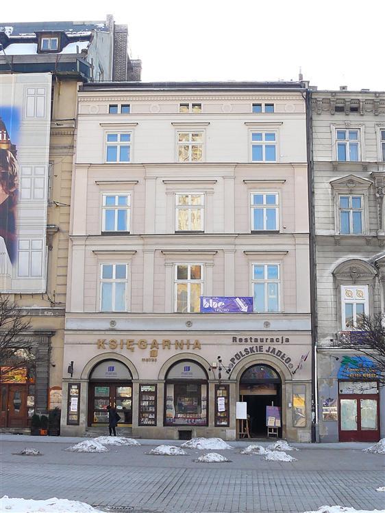 Kamienica Kromerowska - rynek Kraków - chrispu