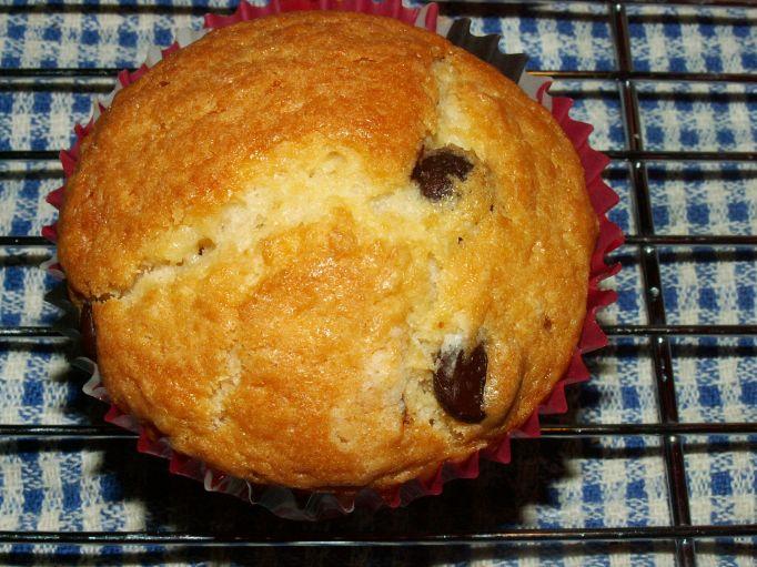 muffiny waniliowe z czekoladą