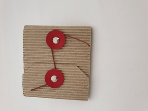 Estuche Artesanal para regalo cartón reciclado