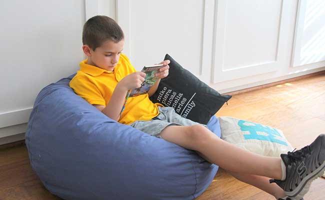 Scegliere la perfetta poltrona per i bambini. Poltrona A Sacco Per Bambini Per I Piccoli Di Casa