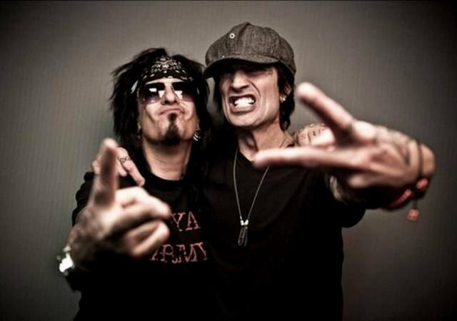 nikki sixx tommy lee