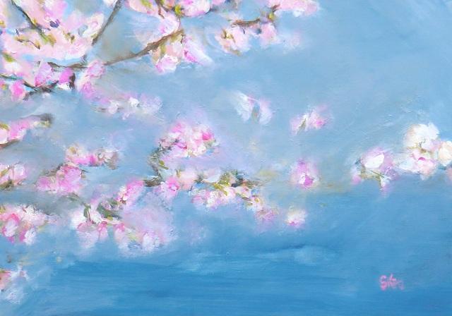 Blumenbilder  polyacryl  Originalbilder Inneneinrichtung und Ausstattung mit Bildern