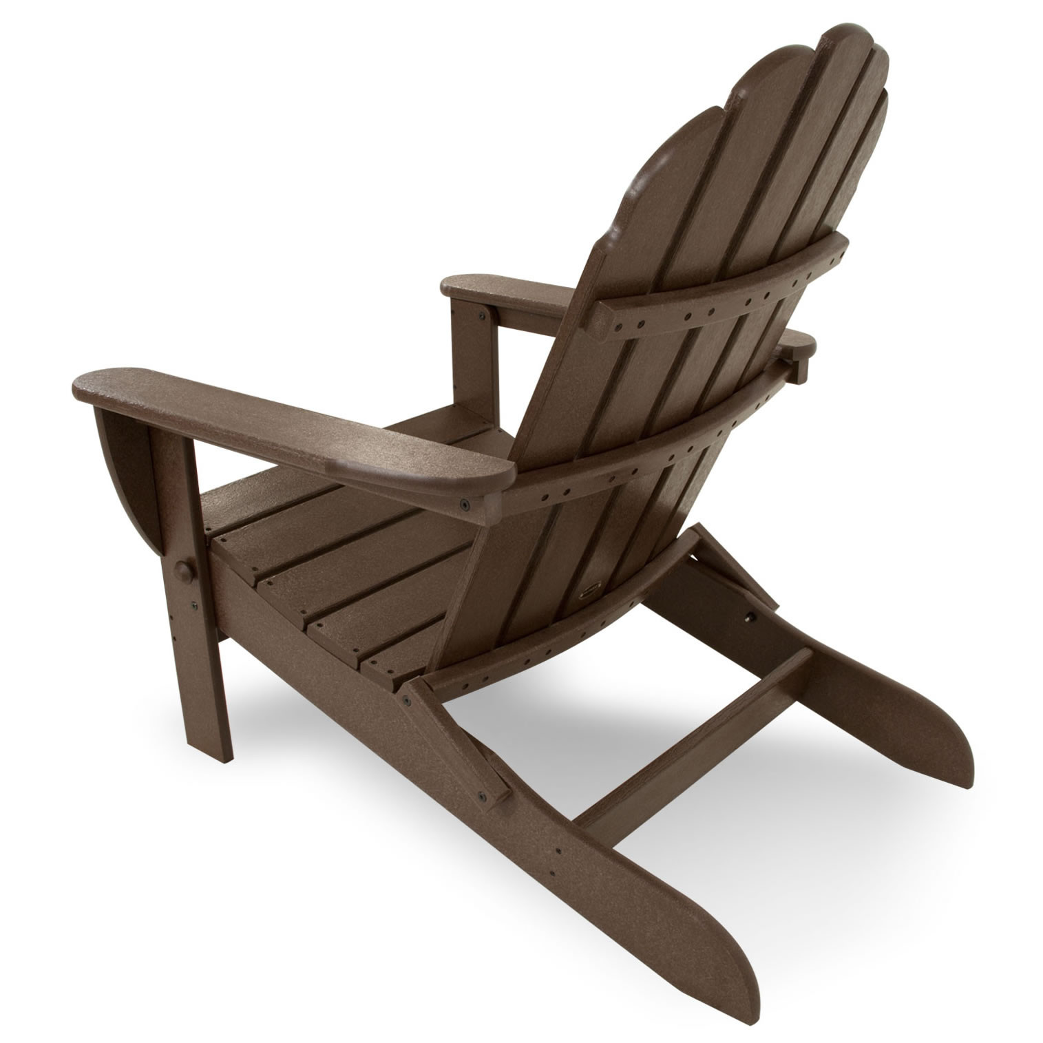 polywood classic adirondack chair stool with footrest oversized curveback
