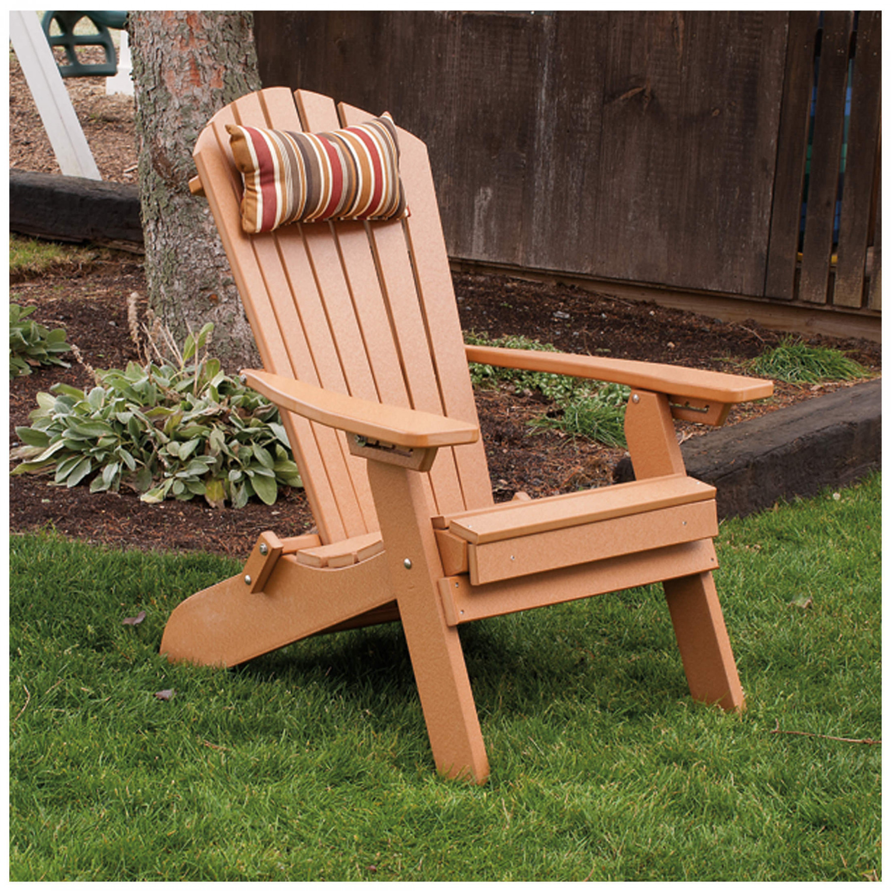 adirondack chair with ottoman plans kids table a andl furniture poly folding reclining