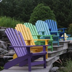 Plastic Adirondack Chair Swing Transparent Breezesta™ Coastal - Collection Breezesta Collections