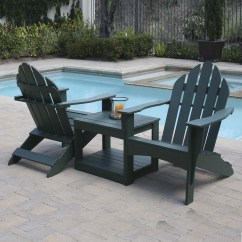 Double Adirondack Chairs With Umbrella 8 Seater Round Dining Table And Eagle One Chair