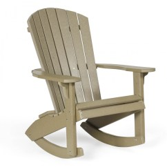 Amish Made Rocking Chair Cushions Rv Furniture Dining Chairs Poly Wood Fan Back Adirondack Rocker Leisure Lawns