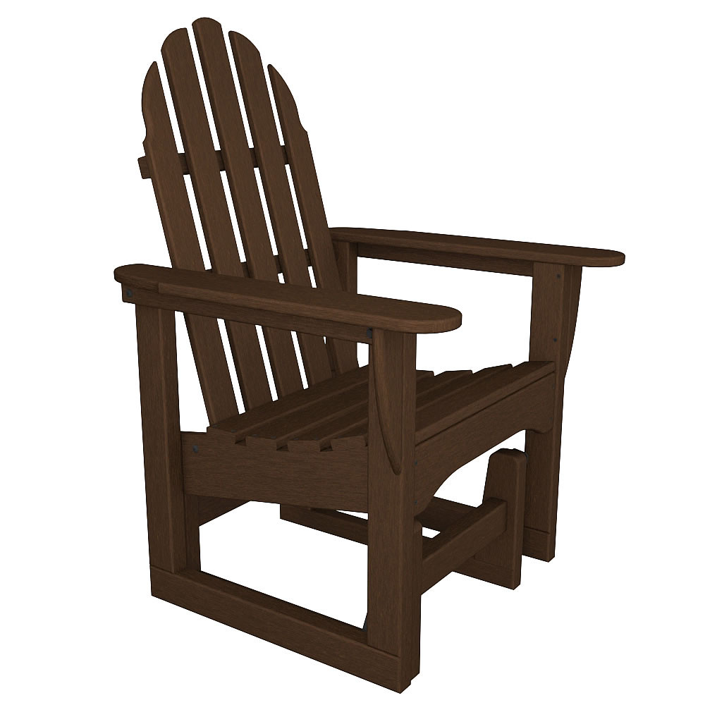 polywood classic adirondack chair plastic seat covers for kitchen chairs glider - polywood® outdoor furniture collections