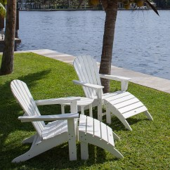 Poly Wood Adirondack Chairs Fishing Chair With Accessories Polywood South Beach