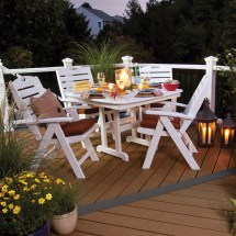 Trex Outdoor Furniture Yacht Club 37 In Dining Table