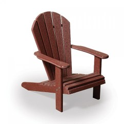 Adirondack Chairs Amish Brown Leather Chaise Lounge Chair Poly Seaaira Child 39s