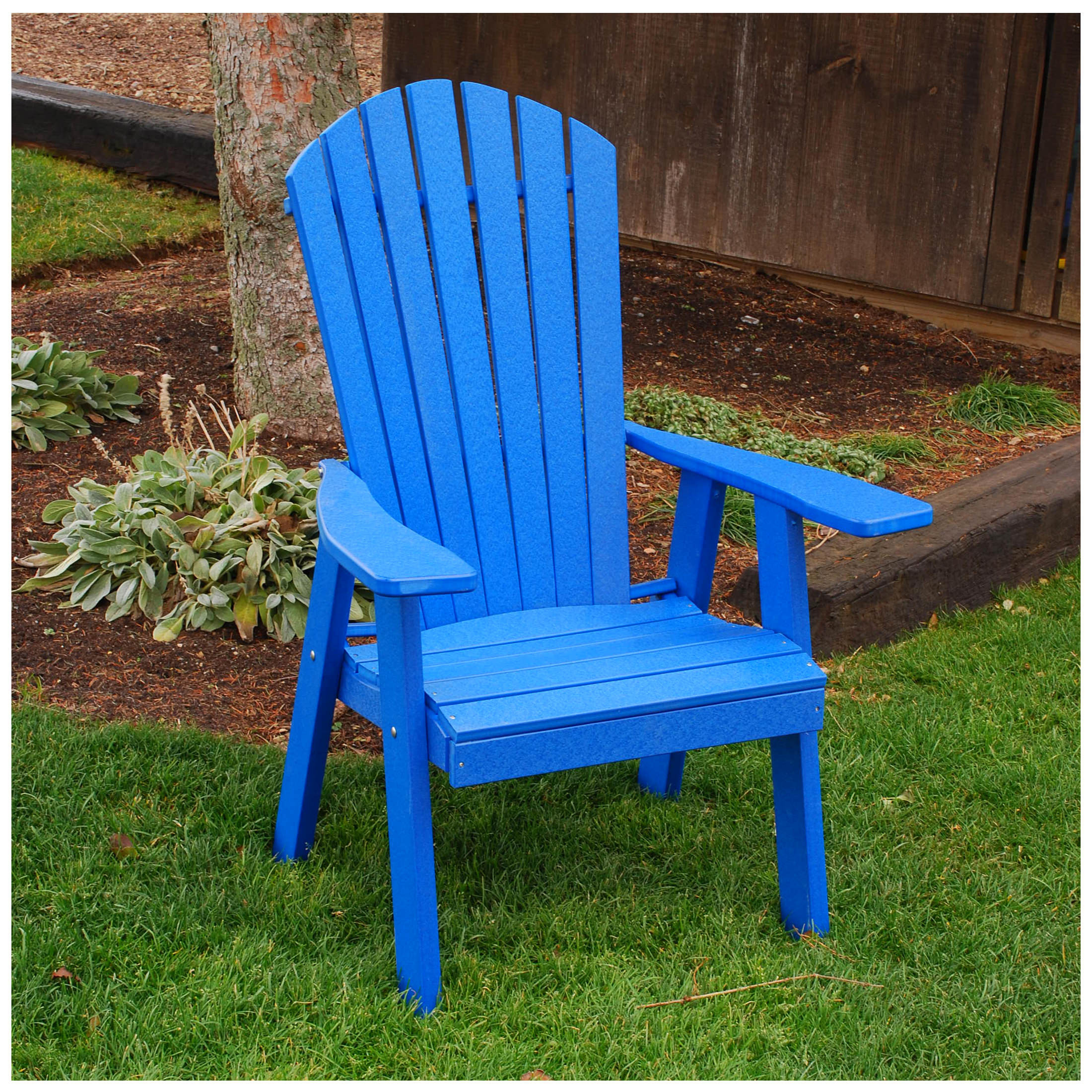 AL Furniture Poly Upright Adirondack Chair  AL